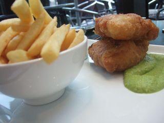 Posh fish&chips